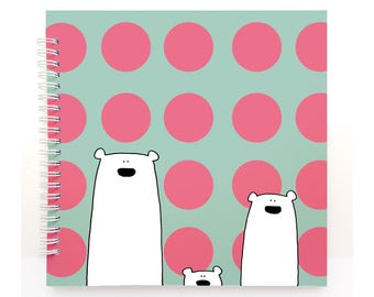 DOTS - Baby Book, Baby Memory Book, Baby Shower Gift, Baby Journal, Baby Album, Keepsake