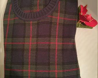 Classic Austin Reed Cotton & Wool Crewneck Sweater (M)
