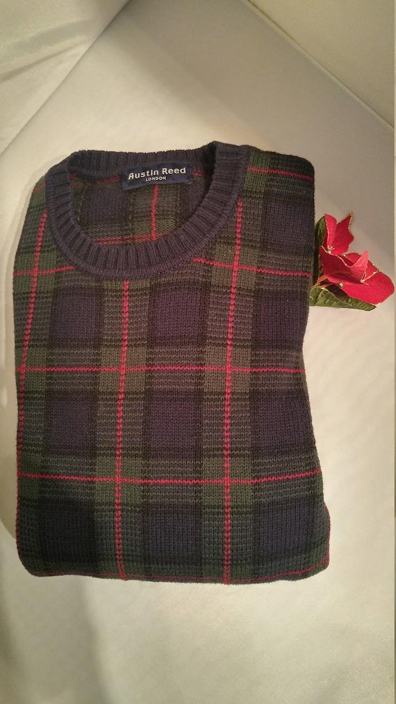Classic Austin Reed Cotton & Wool Crewneck Sweater (M) 2SSfDLu
