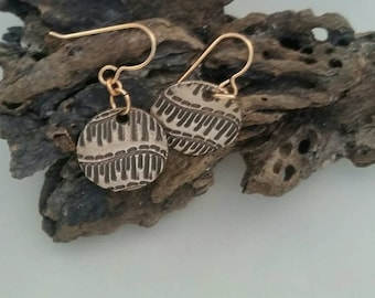 Sunset Iron Earrings