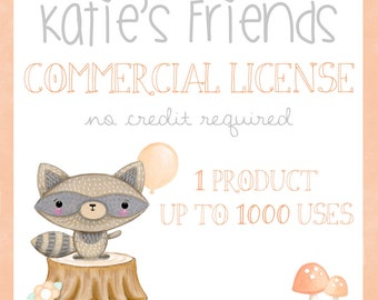 Commercial License, Commerical License No Credit Required, Up To 1000 uses