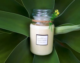 Triple Scented XL Soy Wax Candle