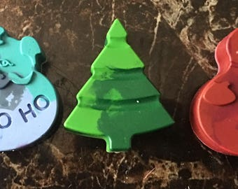 Merry Holiday crayons