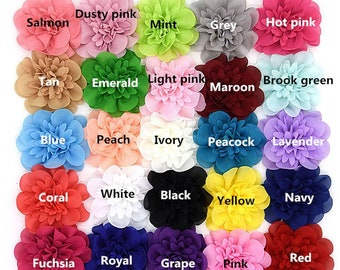 New Flowers New Colors 4 inch Hair bow Roses