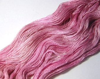 Silk Royal Alpaca Lace in Pink Rose - One of a Kind