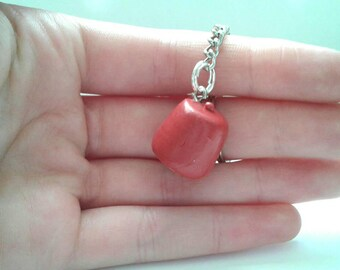 Polymer clay doctr Who fez keyring