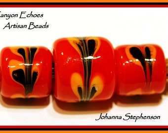 BIG HOLE Beads by Canyon Echoes Artisan Beads USA