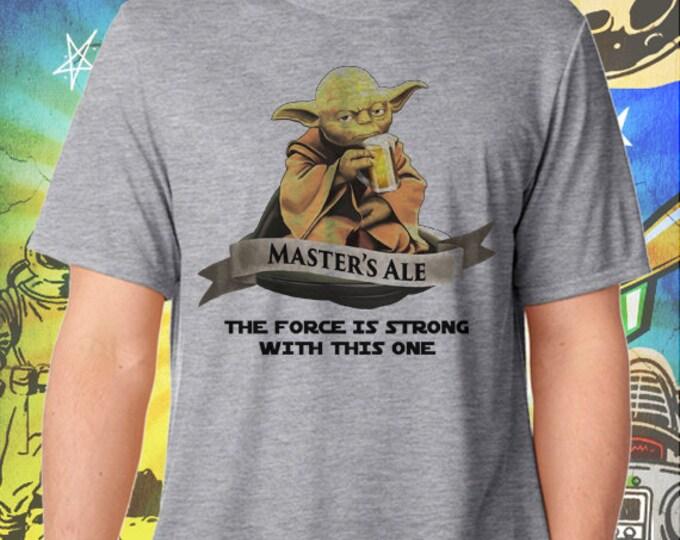 Star Wars / Master Yoda Ale / Men's Gray Performance T-Shirt