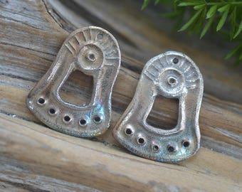 Primitive weiß Kupfer Glöckchen Komponenten