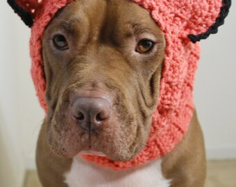 Crochet Dog Snood Fox Made to Order