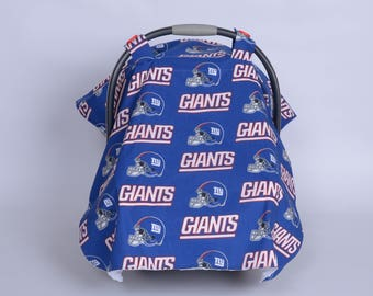 New York Giants Carseat Canopy