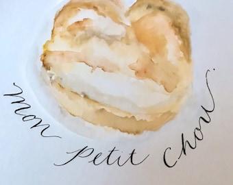 Mon Petit Chou (my little creampuff!)