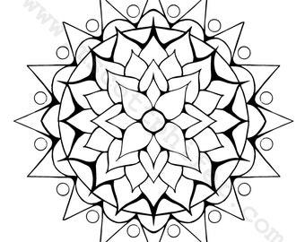 Coloring Page (Lotus)