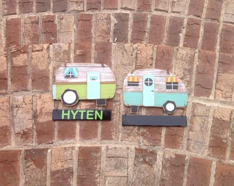 Personalized/Customized Camping Outdoor Sign-Camper Decoration/Camper Sign