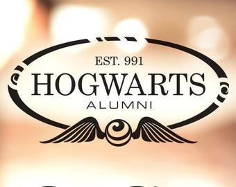 Hogwarts Alumni - Harry Potter Vinyl Decal