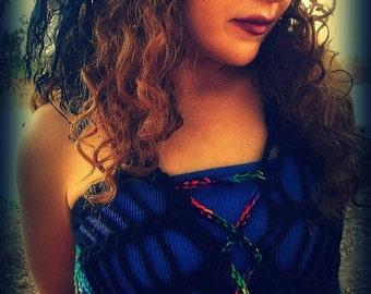 Dream Catcher Pixie Mandala  Waistcoat Corset Vests Choose Your Colors Made For You