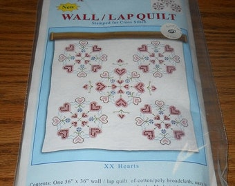 20% Off Jack Dempsey Needle Art Kit~Wall/Lap Quilt~#739 Pattern #16 For Hand Embroidery
