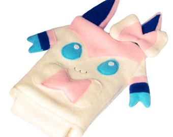 JULY PREORDER 3ds XL Case / Custom Size Pokemon Sylveon pouch carrying case new 3ds / 3ds xl / nintendo switch / psp vita holder cozy