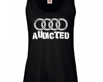 AUDICTED Ladies Vest T-shirt