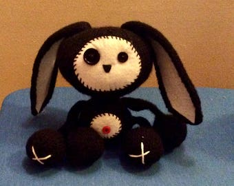 Little Goth Easter Bunny
