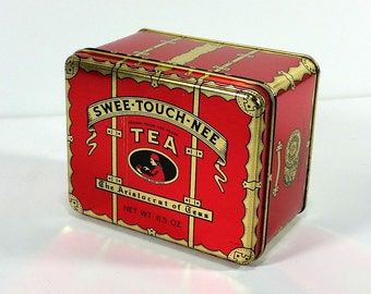 Vintage Swee-Touch-Nee Tea - Red Tea Tin
