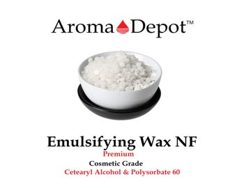 Premium Emulsifying Wax NF Vegetable Polysorbate 60 Polawax 1 oz to 5 lbs Bags Or Pouches