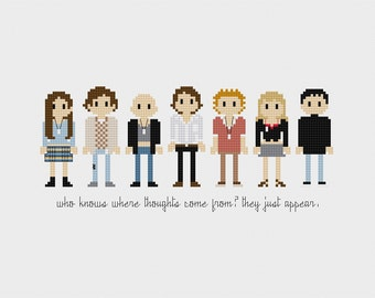 Empire Records Cross Stitch Pattern PDF Instant Download