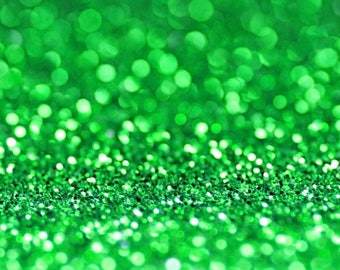 GREEN BIO GLITTER - Biodegradable Glitter- Festival Biodegradable Glitter-  Eco Glitter - Mermaid Glitter - Cosmetic Grade - 200 microns