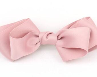 Hair Bows, Hair Ribbon, Hair Bows for Women, Big Hair Bows, Hair Pins Fabric ribbon Bows Pink Ribbon Bows