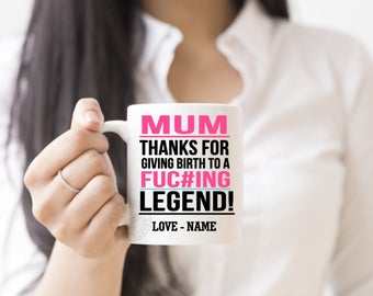 Legend, Mum GIft, Novelty Custom Mugs, Personalized Mug, Coffee Lovers, Novelty Gift, Coffee, Tea Cup, Coffee Lovers, Funny Gifts, Coffees