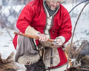 Woolen Coat; Viking Coat; Santa Coat; Warm Coat