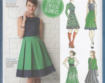 Simply Sewing Magazine Promotional Pattern - Audrey Dress