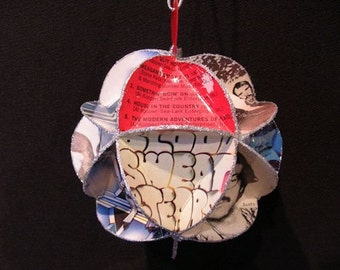 Blood Sweat & Tears Album Cover Ornament Made From Record Jackets