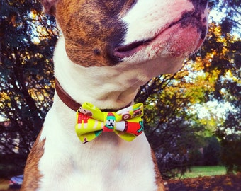 Holiday Dog Bow Tie