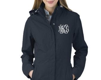 Monogrammed Jacket, Charles River Women's Logan Jacket, Women's Logan Jacket, Monogrammed Coat, Favorite Things