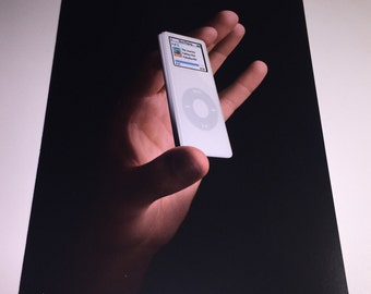 Apple iPod Nano Promo Postcard from 2005 - Collectible