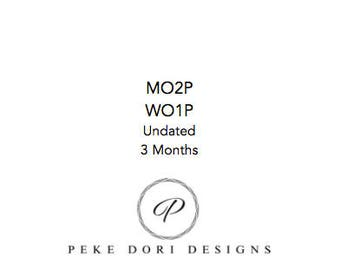MICRO MO2P WO1P 3 Month Undated
