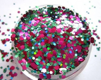 Turkish Delight Nail Glitter Mix- Solvent resistant