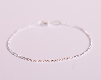 bracelet il silver ballchain ball beads pretty plated etsy chain market