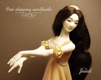 """Bjd doll JULIET, from my new collection """"BALLET""""."""