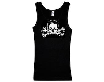Ladies Tank Top - Skull and Bones