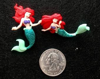 Free Shipping! Little Mermaid Ariel Earrings