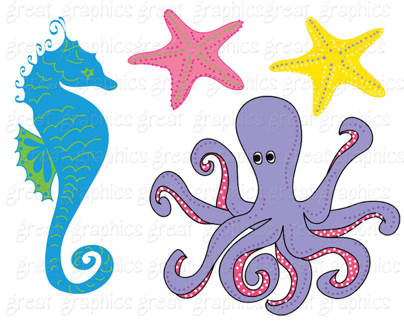 under the sea party clipart under the sea printable party rh etsy com under the sea clipart background under the sea clip art printable free