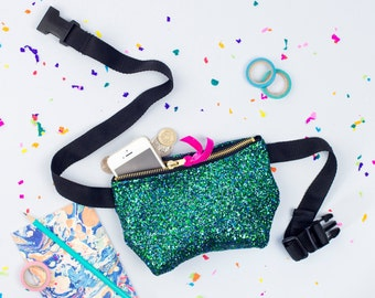 Mermaid Glitter Party Bum Bag (Fanny Pack)