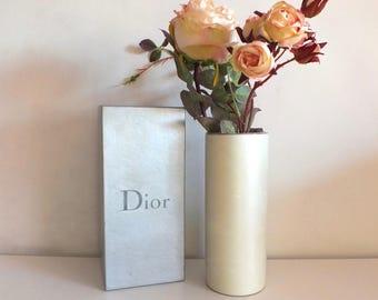 Christian Dior/Christian Dior/Dior/Dior vintage porcelain Vase box Antiquityfrench/gift/vase/vintage Christian Dior
