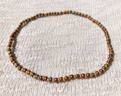 Copper Anklet, Stretchy A...