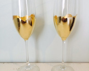 2 Champagne Flutes