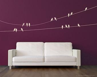 & Bird wall decal | Etsy