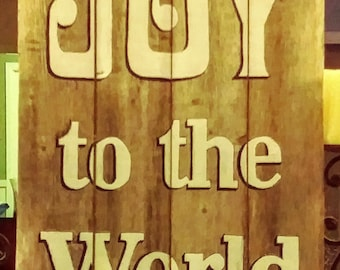 Christian / Inspirational. Hand Made and Painted Wood Sign.