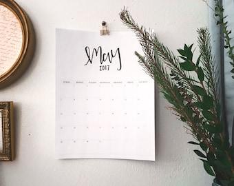 PRINT-AT-HOME 2017 Calendar